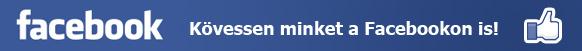 Kövessen minket a Facebookon is!